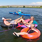 Madison River Tubing - Cool Family Fun
