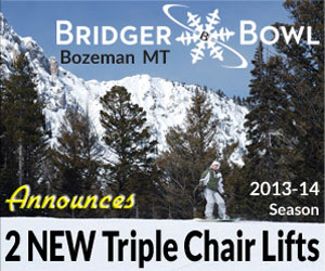 Bridger Bowl - New High Speed Lifts - Coming in winter 2013-14, Bridger Bowl is upgrading to the newest and best lift equipment to improve guest satisfaction and speed to the runs. Come see what's on tap!