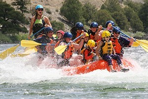 Paradise Adventure Company at Chico Hot Springs :: Offering a great combination of scenic raft and wild whitewater trips, plus 'Saddle & Paddle' combo and dinner floats. Or, package them together and save.