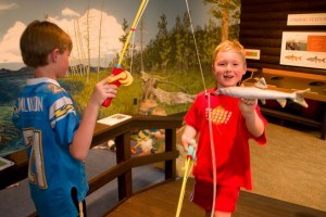 Museum of the Rockies - just for the kids :: Recognized as one of the world's finest research and history museums. Renowned for our dinosaur collection, fossils, permanent & rotating exhibits, history farm & kids events.