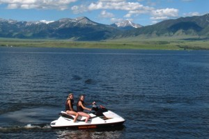 Summit ATR Watercraft Rentals :: Renting a Sea-Doo® personal watercraft for the day is the perfect way for families to enjoy Ennis Lake. Plus, Suzuki King-Quad 400 ATVs or Teryx UTVs.