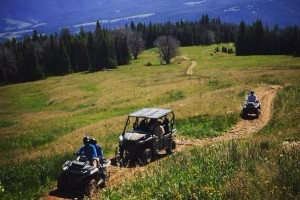 Summit ATR powersports rentals :: We rent Suzuki, Can-Am & Teryx ATVs and Sea-Doo® personal watercraft. Pick-up at our store, or will deliver to your location. Enjoy the backroads outside Yellowstone Park.