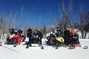 Summit ATR - Ski-Doo® Snowmobile Rentals :: Renting Ski-Doo® Summit snowmobiles (550, 600 and 800 series) along with helmets, accessories and clothing. For current rates and availability, to reserve call 406.581.5086.