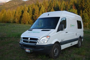 Campervan North America - Bozeman pickup
