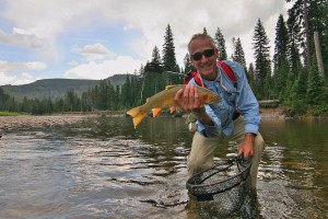 Yellowstone Mountain Guides - Backcountry Fishing