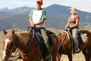 Montana Whitewater's Horseback Combo Trips :: Pair horseback riding with another activity for a full day of fun! Try the Paddle Saddle (+RAFTING) or Ride 'n Glide (+ZIPLINE)! Locations in Gardiner & N. of Big Sky.