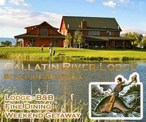Gallatin River Lodge - TripAdvisor 2017 winner
