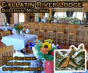 Gallatin River Lodge - a dining experience