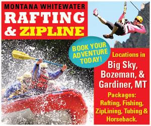 Montana Whitewater & Yellowstone ZipLine Tours