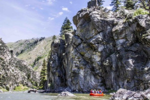 Montana Whitewater's Beartrap Wilderness Raft Trip