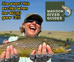 Madison River Guides : Who knows how to fish the Madison River best? Those who live & operate along the river everyday. Based here in Ennis, we offer exceptional angling and outdoor experiences for experts and beginners. Aside from catching fish, we see more wildlife in a day than many people do in a lifetime.