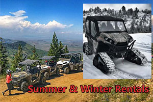 Summit ATR - All Season ATV Rentals