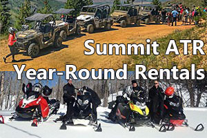 Summit ATR - Snowmobile or ATV rentals