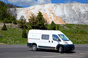 Campervan North America - Pickup in Bozeman