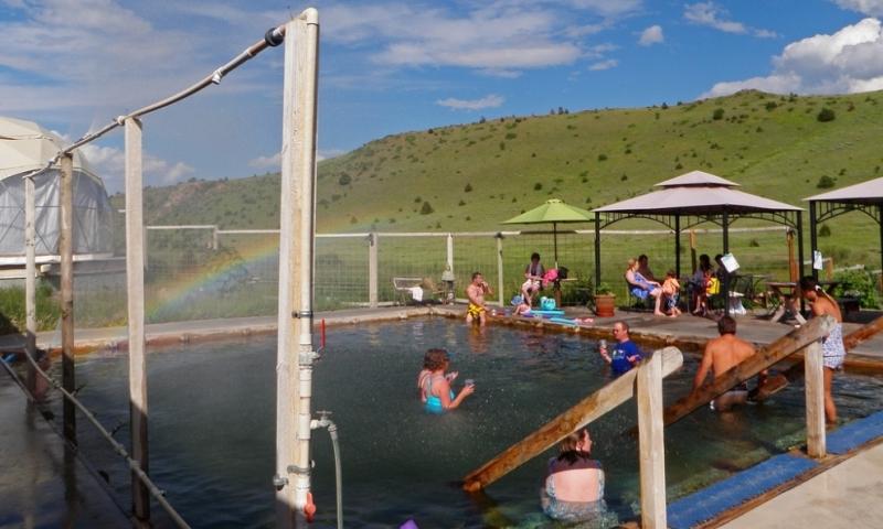 Norris Hot Springs MT