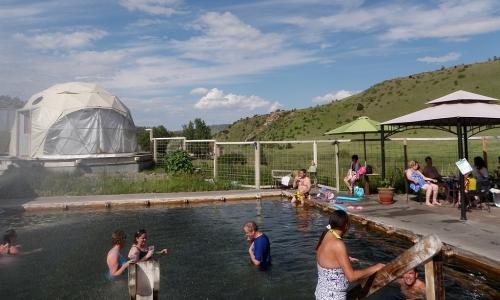 Norris Hot Springs Near Bozeman Montana Alltrips