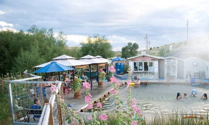 Norris Hot Springs Montana