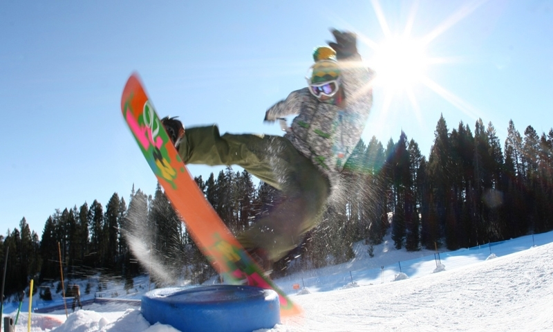 Bridger Bowl Ski Area Bozeman Montana