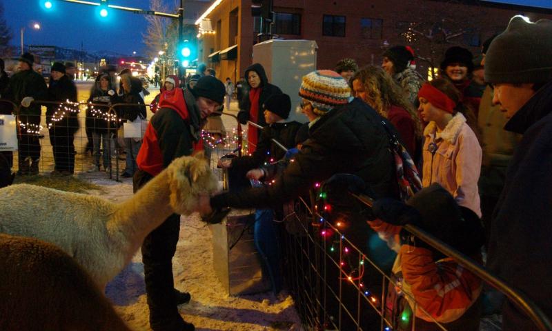 Bozeman Montana Christmas Stroll