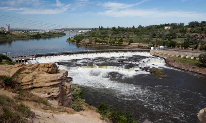 Great Falls Montana Dam