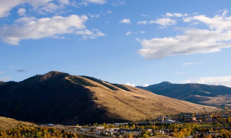 Missoula Montana Mount Mt Sentinel