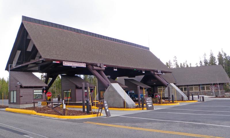 West Entrance West Yellowstone Montana