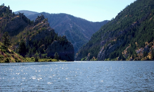 Gates of the Mountains on Holter Lake