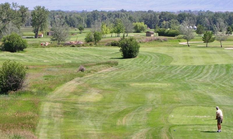 Cottonwood Hills Golf Course Manhattan Montana