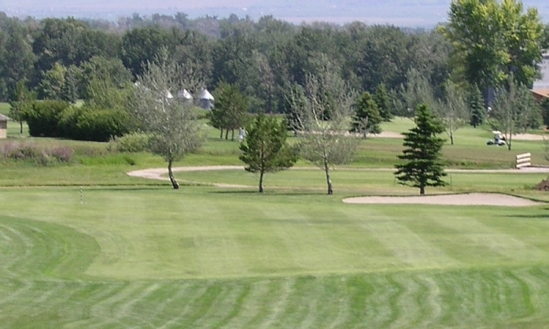 Golf Golfing Cottonwood Golf Course Bozeman Montana