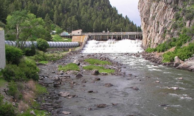 Ennis Lake Dam Montana