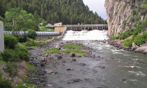 Montana Ennis Lake Dam