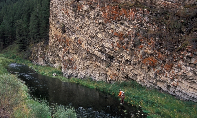 West Boulder River Big Timber Montana