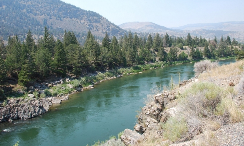 The Madison River near Bozeman, Montana