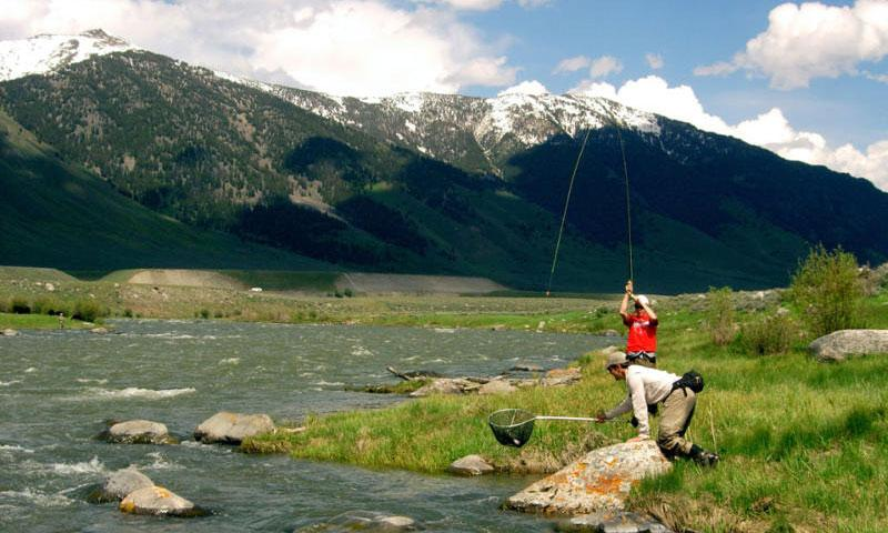 madison river montana fly fishing camping rafting alltrips
