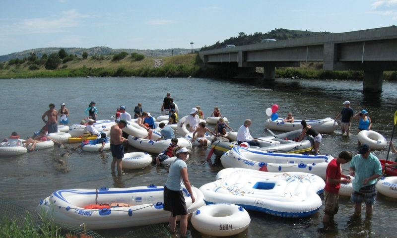 Tubing Floating Rafting Jefferson Madison River Bozeman Montana