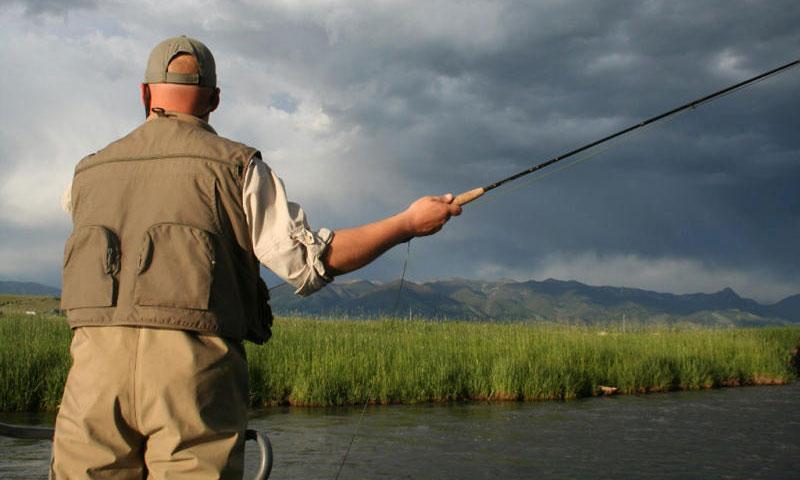 East Gallatin River Fly Fishing Montana
