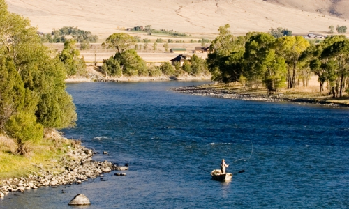 Yellowstone River Fly Fishing Montana
