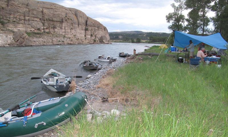Guided Fishing Trip on the Yellowstone River
