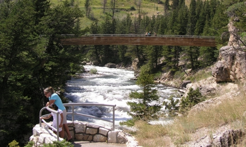 Boulder River Natural Bridge Montana