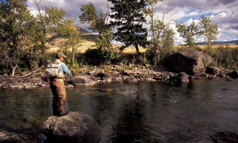 Boulder River Montana Fly Fishing Camping Boating Alltrips