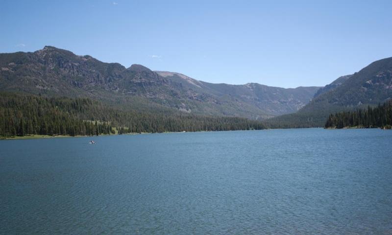 Hyalite Reservoir Montana Fishing Camping Boating Alltrips