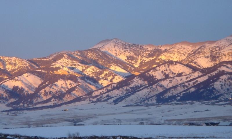 Bozeman Mountains Bridger Range