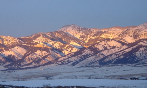Bozeman Mountains Bridger Range