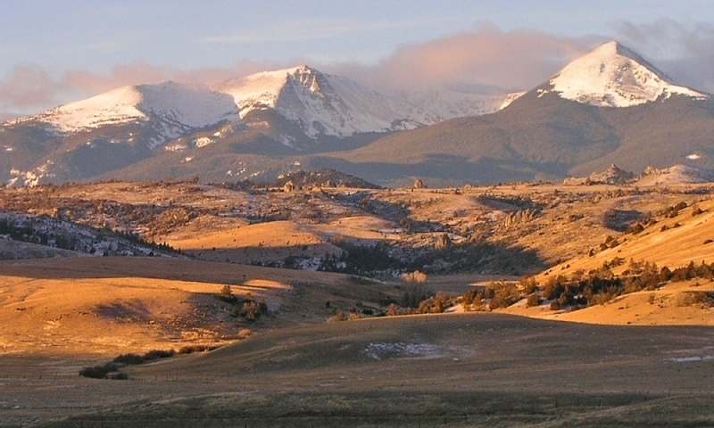 Tobacco Root Mountains In Montana Alltrips