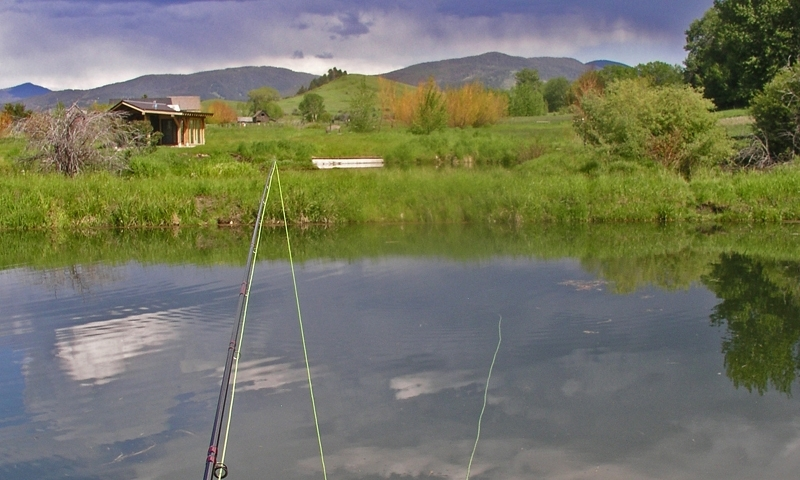 Gallatin Gateway Montana Baden Ranch Fishing