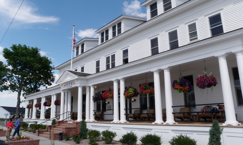 Sacajawea Hotel in Three Forks