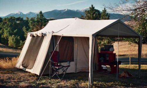 Glamping Camping Montana Yellowstone River