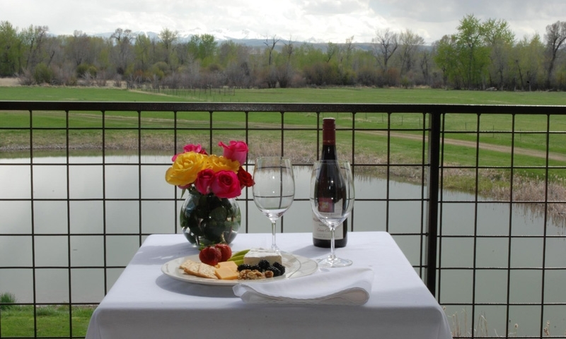 Dining at the Gallatin River Lodge in Bozeman