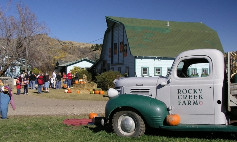 Rocky Creek Farm Rock Creek Bozeman Montana