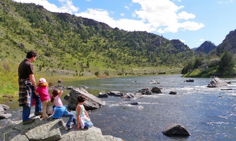 Beartrap Canyon near Bozeman